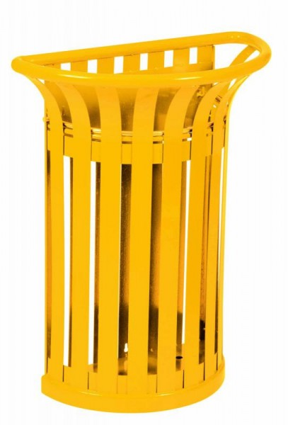 Rossignol Tulipe wall mounted bin 35L made of steel with inner bag holder Rossignol 57988,58375,58409,58432,58433,58413,58414
