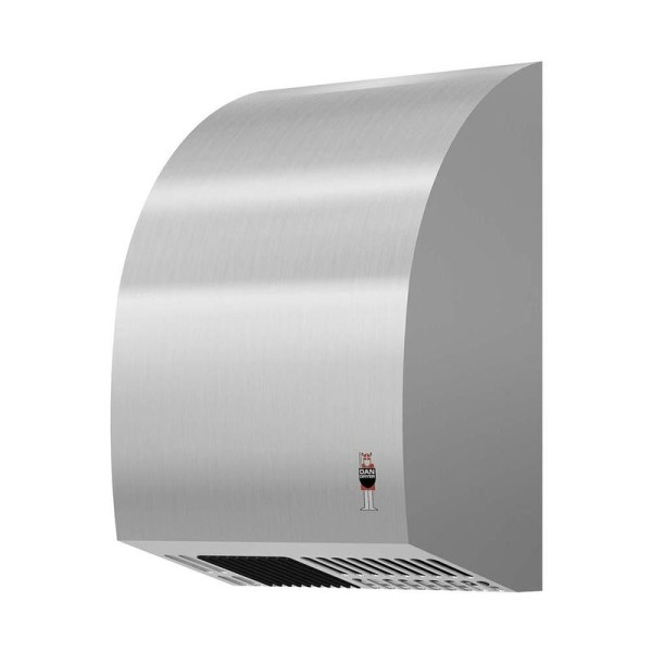 Dan Dryer Mini hand dryer 1800W made of brushed stainless steel with IR sensor Dan Dryer A/S 281