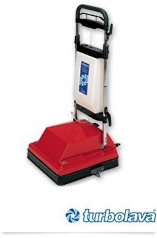 CIMEL Turbolava MAXI floor scrubber and a dryer in one with 2 brushes and squeegee Cimel-turbolava TUMAXI