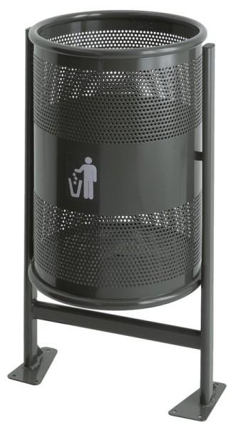 Abfallbehälter 60 Liter auf Gestell VB 712000