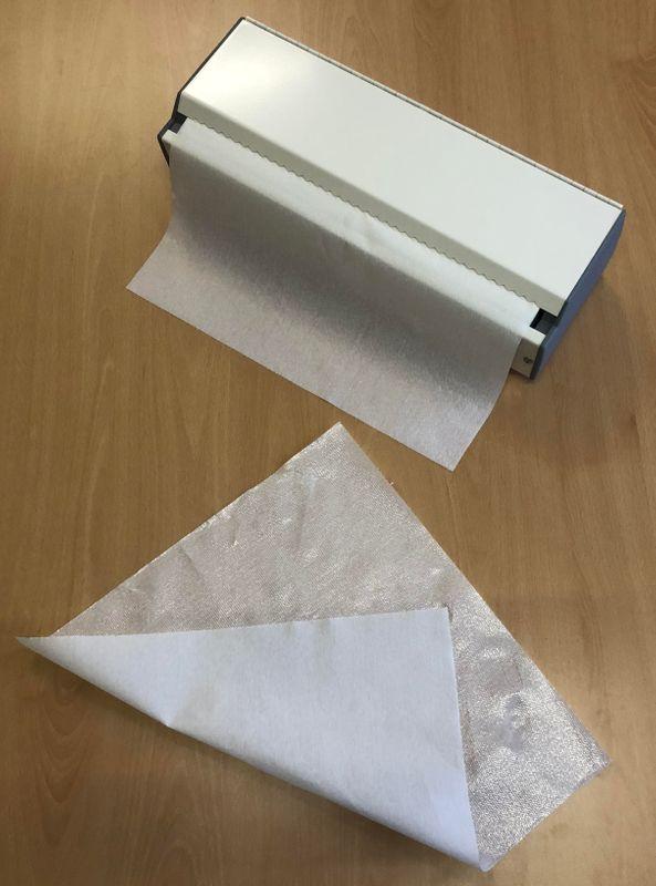 Hygienische Auflage Karton mit 6 Rollen Wickeltisch Papierrollen Economic