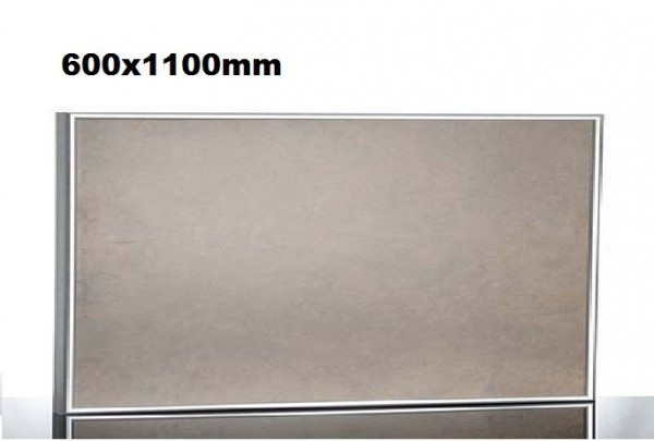 Ceramic heater with aluminum frame and wall bracket by Elbo Therm Elbo therm TA600,TA600,TA700,TA700,TA800,TA800