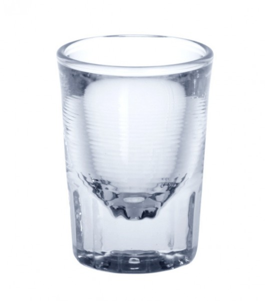6 piece Easy Shot glass 4cl crystal clear of plastic Schorm GmbH 9002