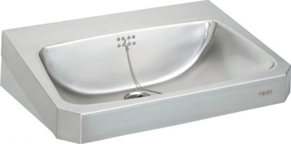 Franke washbasin WT600C from the Line Anima made of stainless steel Franke GmbH Variante:Ohne Armaturenbohrungen WT600C,WT600C-M
