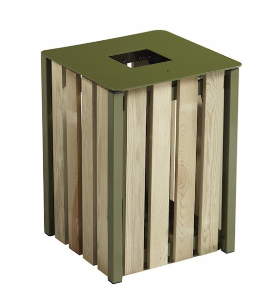 Rossignol Eden free standing or fixed bin 50L without ashtray Rossignol 57874,57875,57873