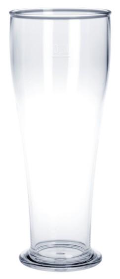 SET Angebot: 53 Stk. Weizenbierglas 0,5l SAN glasklar Plastik Spülmaschinen fest lebensmittelecht wiederverwendbar Kunststoff Krug