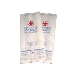 Marplast Papier hygienebeutel fuer Damenbinden