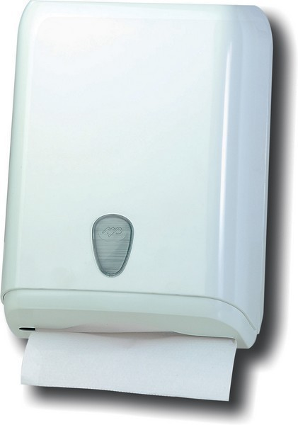 Marplast papertowel dispenser in white made of plastic for wall mounting MP592 Marplast S.p.A. A59201