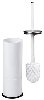 Mediclinics Toilet brush holder made of sheet steel including brush Mediclinics 13198