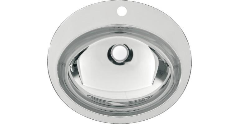 ovales Unterbaubecken RNDH451-O zur Einlegemontage