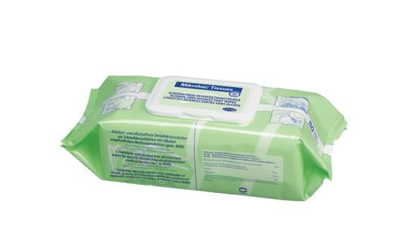Mikrobac® Tissues Alkohol- und aldehydfreie Desinfektionstücher von Hartmann Paul Hartmann Ges.m.b.H.  80 Stück