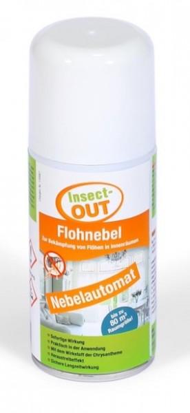 Mit dem Wirkstoff der Chrysantheme - Flohnebel 150 ml - Insect-OUT®