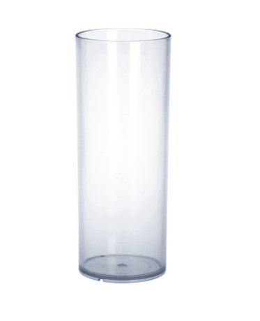 Bar glass 0,25l PC plastic crystal clear reusable food safe Schorm GmbH 9066