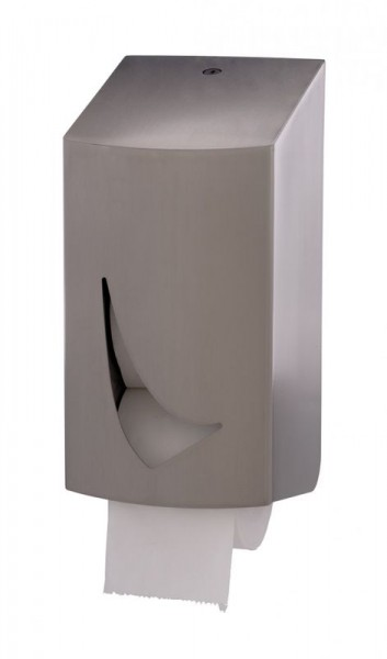 Wings toilet paper dispenser for 2 rolls with plastic insert Wings 4132