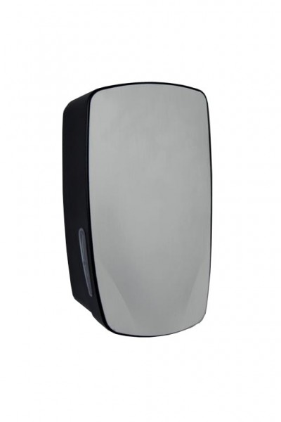 PlastiQline Exclusive Seifenspender 900 ml aus schwarzem Edelstahl zur Wandmontage PlastiQ-line-exclusive  5700,5701,5702