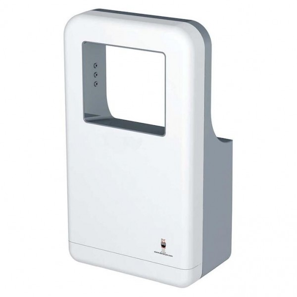 Dan Dryer AD hand dryer 1200W made of white, anti-bacterial ABS plastic Dan Dryer A/S 253