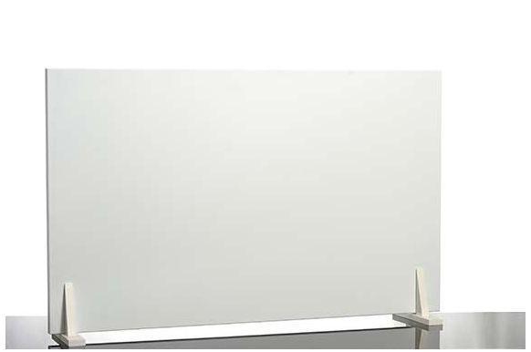 Infrarotheizung Set Easy 600W mit Wandhalterung und Holzfüsse von Elbo Therm Elbo therm EA 600,Holzfüße weiß 90°