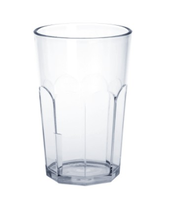 Caipirinha-Glass partly frosted 0,2l - 0,3l SAN plastic dishwasher safe Schorm GmbH 9081,9044