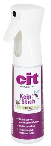 Cit KeinStich forte Schutzspray 300ml (Gelsen, Mücken) Tropentauglich