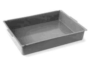 IPC Euromop kleine Wanne aus Plastik für Reinigungstrolley grau