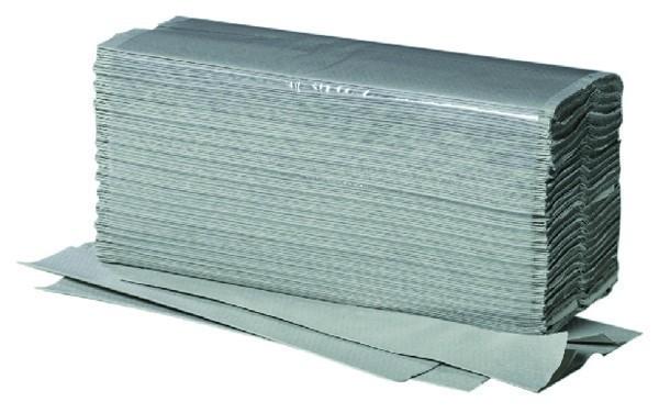 1/2 Palette (16 Kartons - je 5000 Stk.) Papierhandtücher V-Falz - 100% recycled - grün 10201