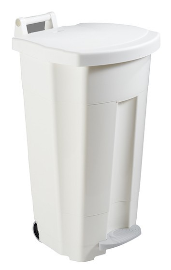Rossignol boogy mobile pedal bin 90 liter with wide outer pedal and large handle Rossignol 56700,56701,56702,56703,56705