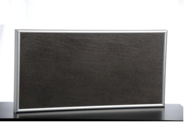 Elbo Therm IR-Steinheizung 200 Watt mit Aluminiumrahmen und Wandhalterung Elbo therm FL200,FL200,FL200,FL200