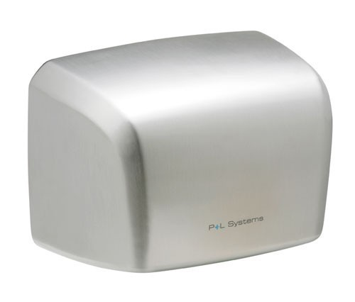 Hand dryer - 1000w - Brushed stainless steel - Powerful motor Pelsis DP1000S