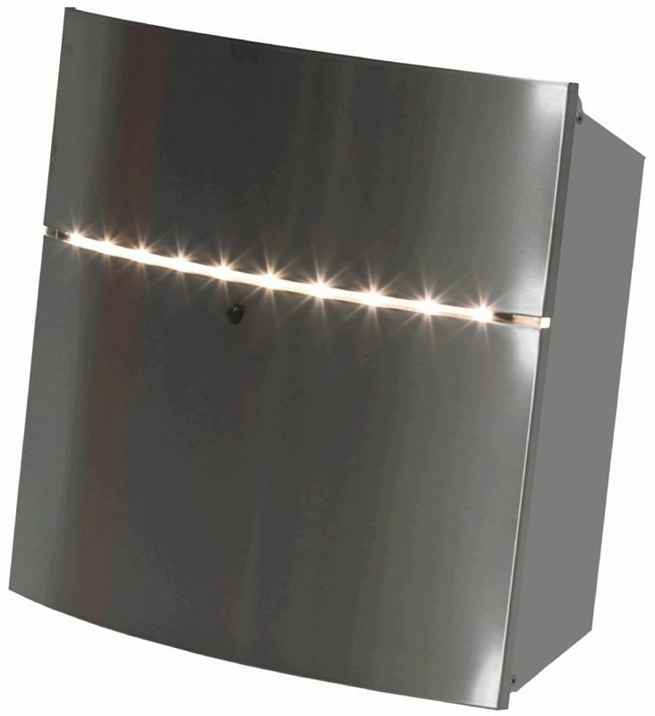 Briefkasten mit LED Beleuchtung