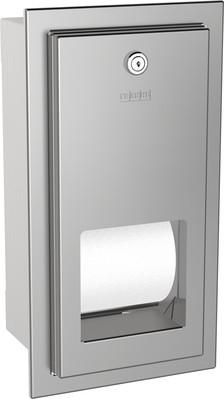 WC-Rollenhalter RODX672E aus Edelstahl zur Unterpu...