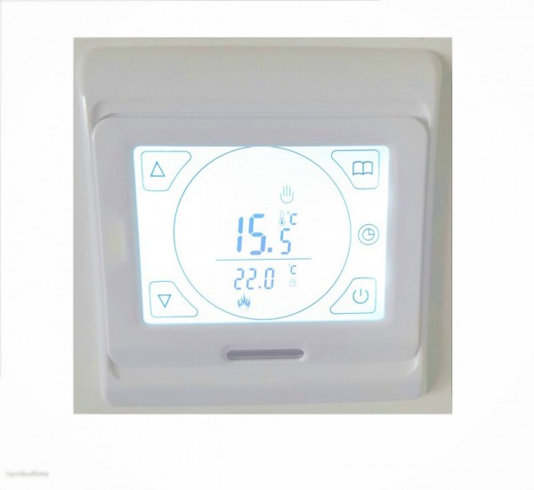 Thermostat IT14 - Unterputz Touchscreen Digital - Infrarotheizungs Zubehör Elbo therm IT14