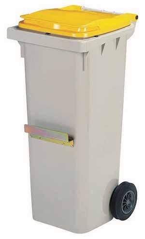 Korok garbage can made of virgin high-density polyethylene plastic from Rossignol Rossignol 56671,56672,56673,56626,56627,56628,56636,56637,56638