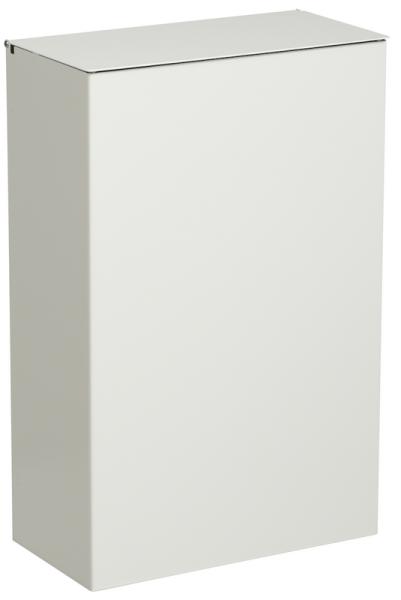 Wand-Abfallkorb 10L aus Edelstahl mit Deckel von Rossignol in versch. Farben