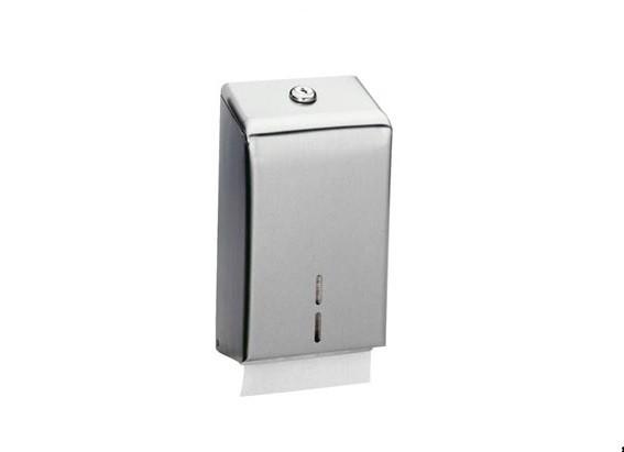 Bobrick B-2721 WC-Papierspender für gefaltete Einzelblätter abschließbar Bobrick  B-2721