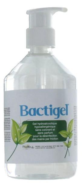 Bactigel Desinfektionsmittel 0,5 Liter (A/H1N1 - HIV) mit Glycerin BACTIGEL500MLAN