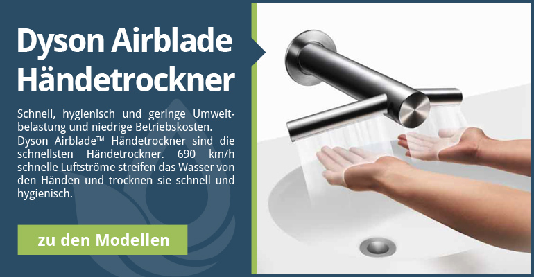 Dyson Airblade Händetrockner