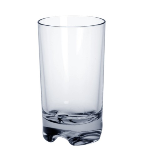 Plastic Cocktail glass SAN ca. 0,3l without filling mark robust food safe Schorm GmbH 9072