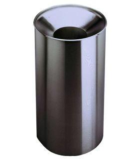 Bobrick large waste bin with waste hopper of stainless steel 125L B-2400 Bobrick B-2400