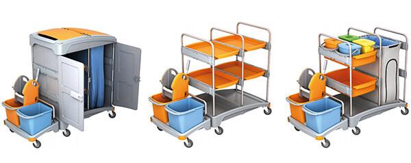 Putzwagen für Hotel, Schule, Krankenhaus