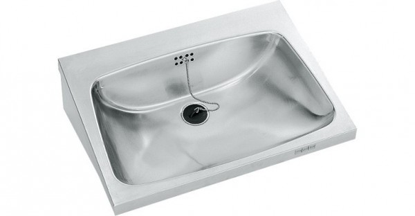 Franke washbasin WT600A made of stainless steel for wall mounting Franke GmbH WT600A,WT600A-M