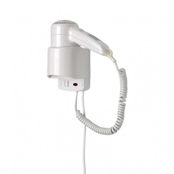 Dan Dryer Elegance hair dryer 1200W made of plastic for wall mounting Dan Dryer A/S 713