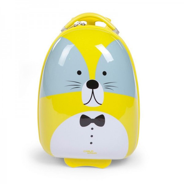 Childwheels Kindertrolly 17 Liter - Modell Waschbär CHTRRL Childhome Taschen