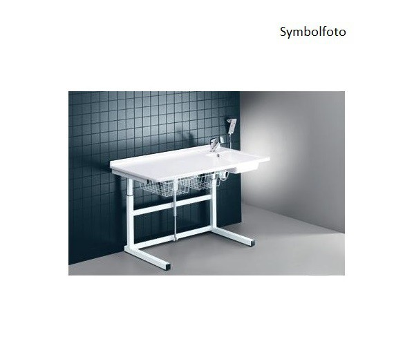 Pressalit white changing table with sanitary appliances 800 x 1800 mm with motor Pressalit R8753