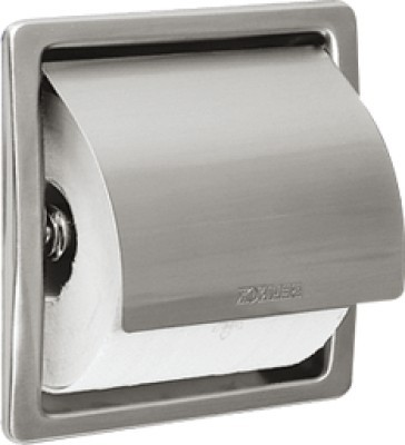 WC-Rollenhalter aus Chromnickelstahl zur Unterputzmontage