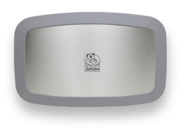 Korizontale Koala Wickelstation KB200-01SS Edelstahlfront MICROBAN® Hygieneschutz