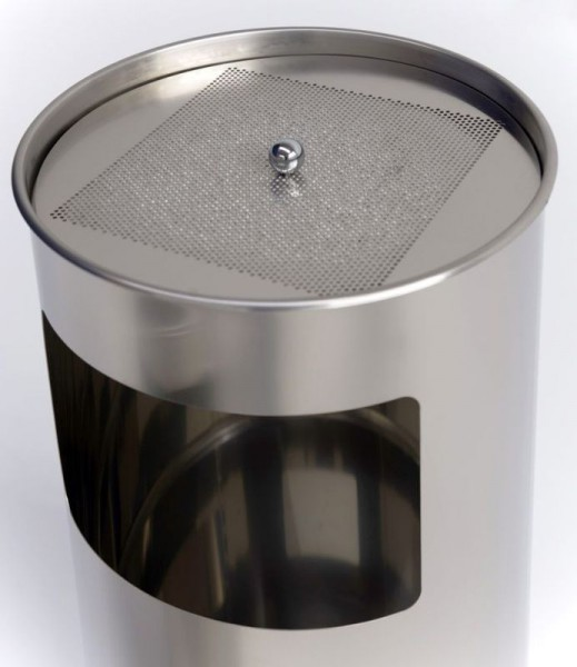 Graepel G-Line Pro LIVIGNO giant outdoor ashtray made of stainless steel 1.4301 G-line Pro K00031950