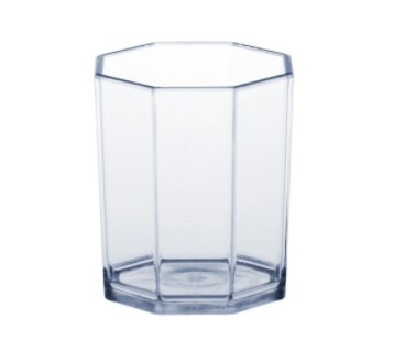 20 piece of plastic shot glasses PC crystal clear 2cl /4cl SAN very robust and reusable Schorm GmbH 9039