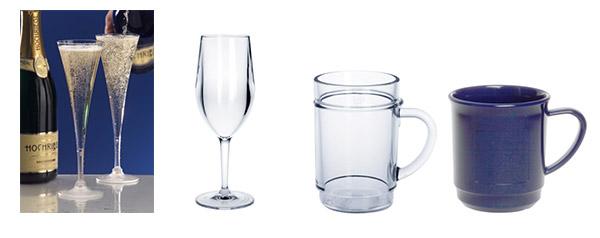 Kunststoff Sektglas und Mehrweg Weinglas online kaufen