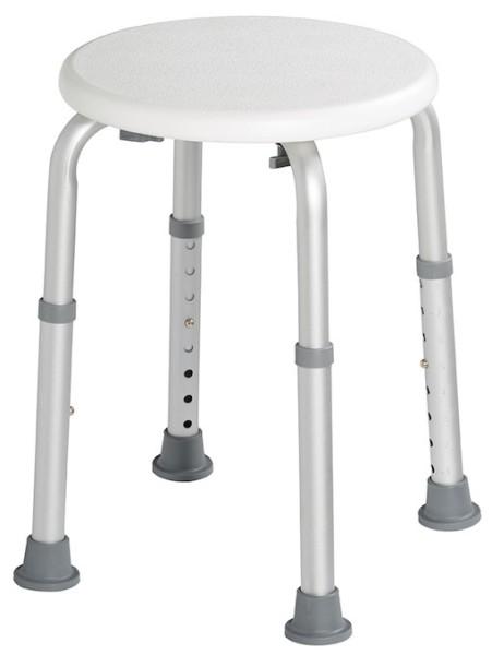 Rossignol Biska adjustable stool with white seat in polyethylene Rossignol 51858