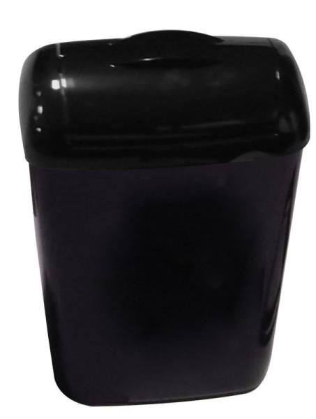 PlastiQline 2020 Hygiene-Abfallbehälter 8 Liter Kunststoff schwarz PQXH8